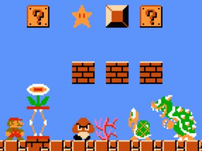 Online Game Mario Bros Maker
