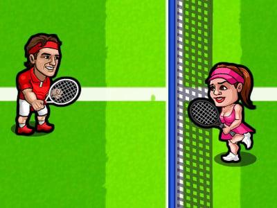 Juego en línea Tennis Fury