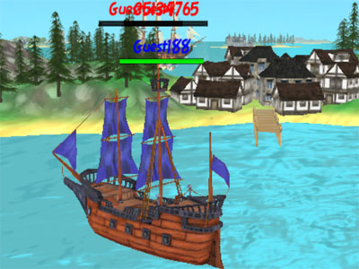 Online Game The Caribbean Sea 3D