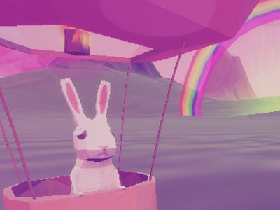 Online Game Where Bunnies Fly