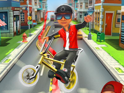 Online Game Bike Blast