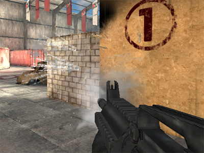 Online hra Combat Guns 3D
