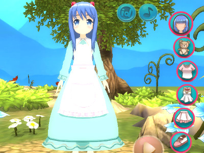 Online Game Cute Moe 3D 2