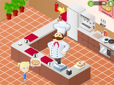 Online Game Diner Chef 4