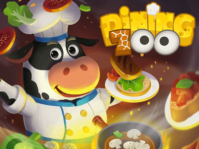 Online Game Dining Zoo