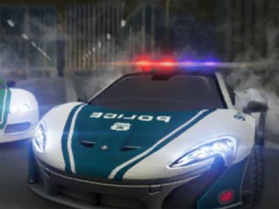 Online hra Dubai Police Supercar Rally