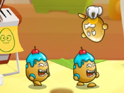 Online hra Egg Riot