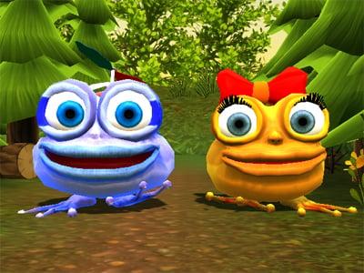 Online hra Froggie Jump