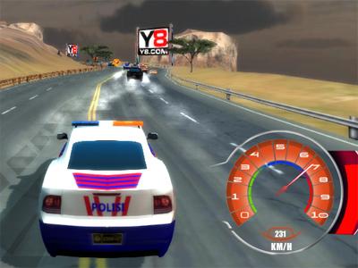 Online hra Highway Patrol Showdown