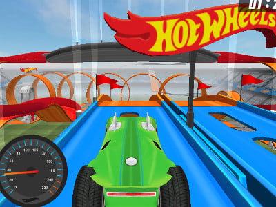 Online hra Hot Wheels: Track Builder