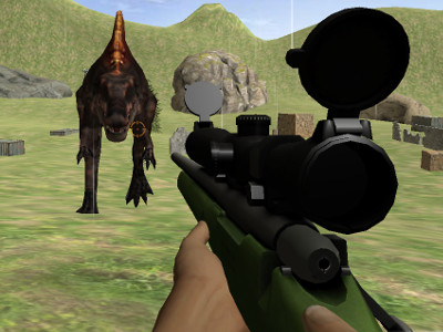 Online hra Jurassic Sniper