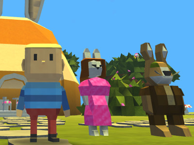 Online Game Kogama:  Egghunt In Bunnyville