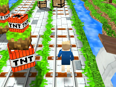 Online hra Miner Run