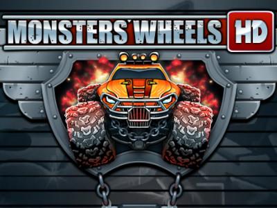 Online hra Monsters' Wheels 3