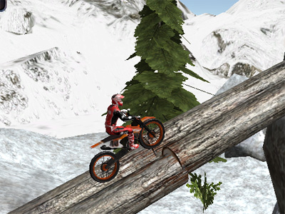 Online Game Moto Trials Winter 2