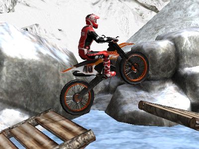 Онлайн-игра Moto Trials Winter
