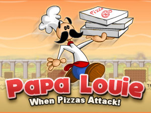 Online hra Papa Louie: When Pizzas Attack