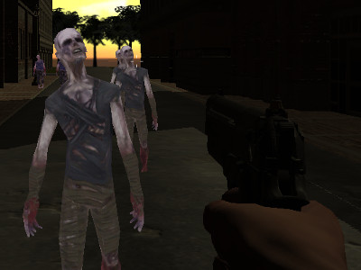 Online hra Rise of the Zombies