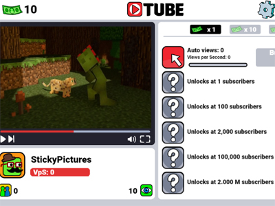 Online Game Tube Clicker