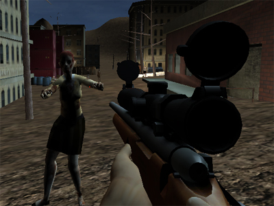 Online Game Valley Gun Zombies