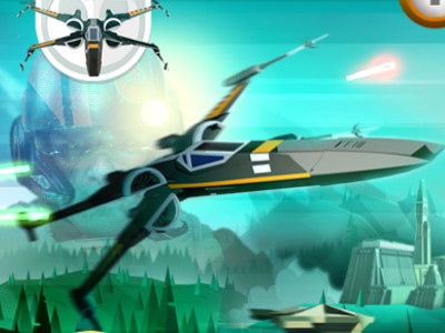 Online Game X-wing Fighter