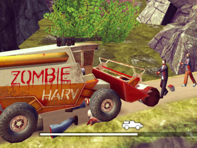 Online Game Zombie Derby 2