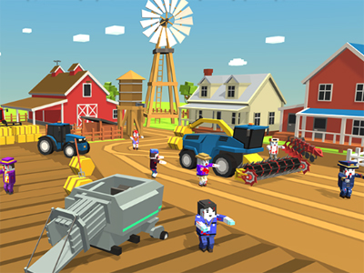 Online Game Zombie Harvester Rush