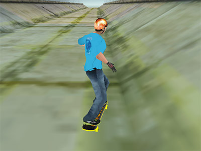 Online Game Amazing Skater 3D