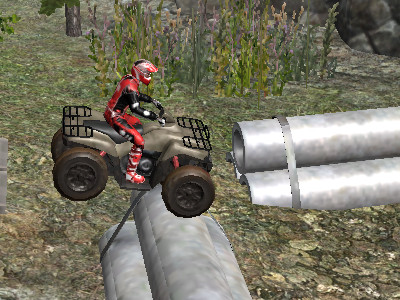 Online Game ATV Industrial
