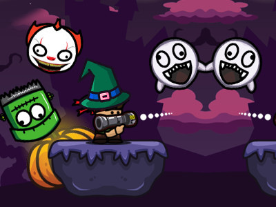 Online hra Bazooka and Monster 2 Halloween