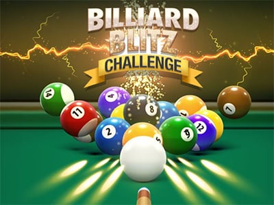 Online Game Billiard Blitz Challenge