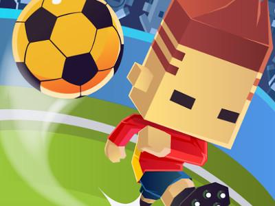 Online hra Blocky Kick