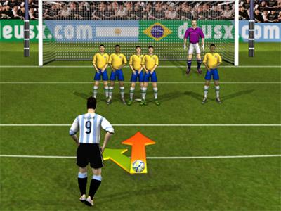 Online Game Brasil vs Argentina 2017/2018