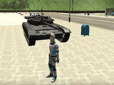 Online Game Cars Thief 2: Tank Edition