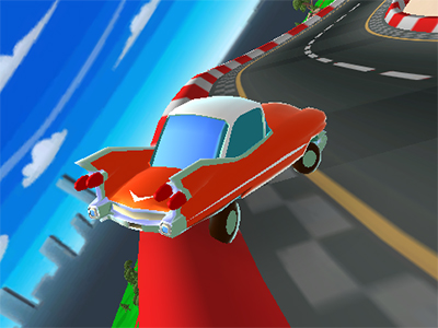 Online hra Cartoon Car Crash Derby Destruction World