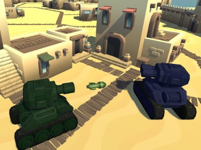 Online Game Cartoon Tanks