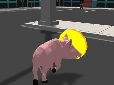 Online Game Crazy Pig Simulator