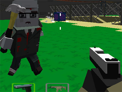 Online Game Cube Arena Zombie Warfare