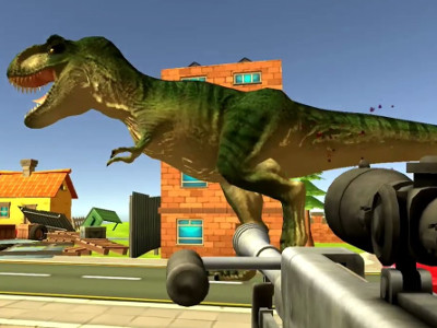 Online Game Dinosaur Hunter Dino City