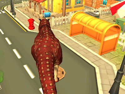 Online Game Dinosaur Simulator: Dino World