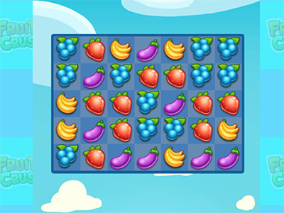Juego en línea Fruita Crush