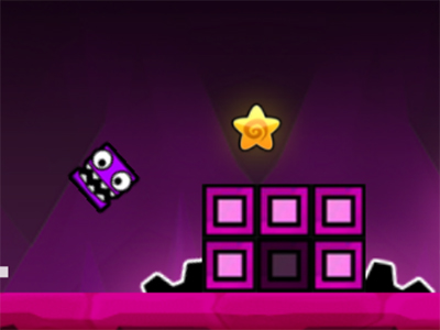 Online Game Geometry Neon Dash 2