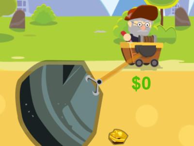 Juego en línea Gold Miner Bros 2
