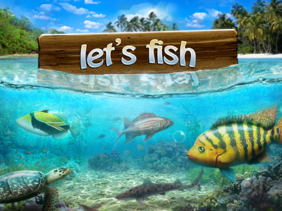 Online Game Let's Fish