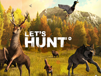 Online Game Let's Hunt