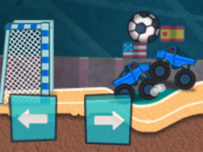 Online Game Monster Truck Soccer