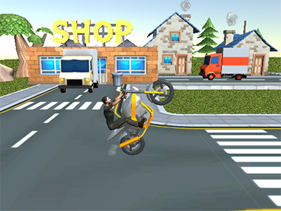 Online Game Moto Sport Bike Racing 3D