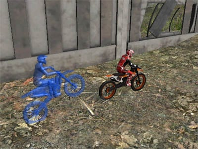 Online Game Moto Trials Industrial