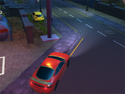Online hra Parking Fury 3D: Night Thief