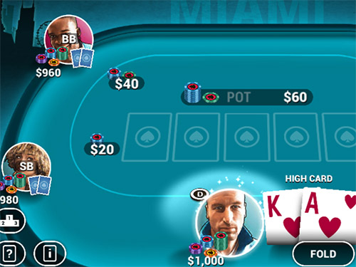 Online hra Poker World